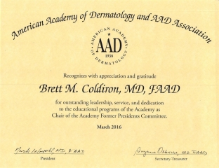 AAD Certification 3-24-2016