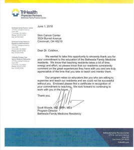 Bethesda Family Certificates
