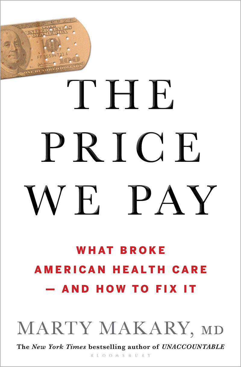 Dr. Coldiron is mentioned in The Price We Pay: What Broke American Health Care--and How to Fix It